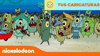 Bob Esponja | La Familia de Plancton | Nickelodeon en Español