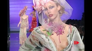 EMANUEL UNGARO Haute Couture Spring Summer 2003 Paris - Fashion Channel