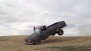 Hooning an F150 (Jumps, Hill Climbs, Off Roading)