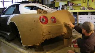 How to clay design & fabricate concept body panels from scratch - The real Fast & Furious 1