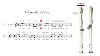 Flauta de Bisel (ou flauta doce) - A Caminho de Viseu