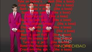 The Lonely Island - Like A Boss [Lyrics]