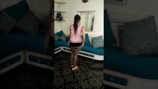 Dance steps on song kamli
