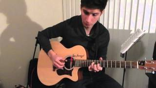 Theme for Young Lovers - The Shadows ( Joe Robinson Cover)