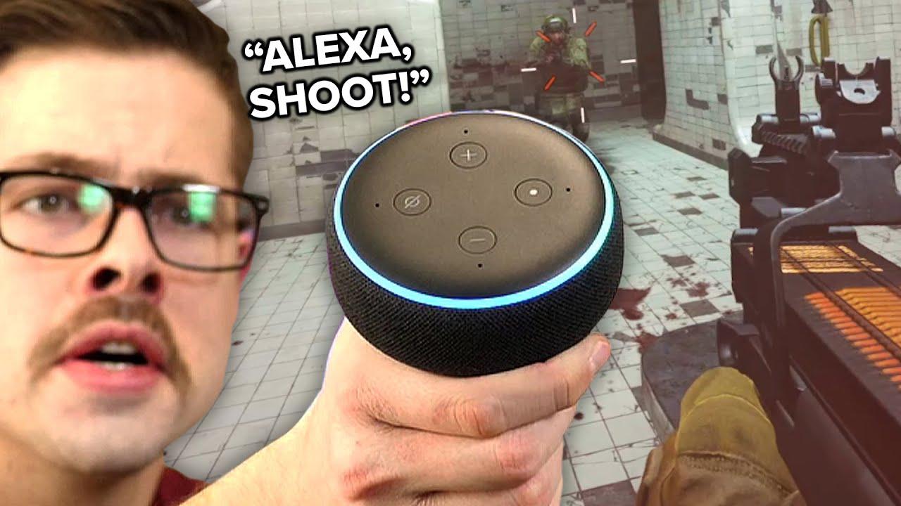 Basically Homeless - I Programmed Alexa to Play Warzone