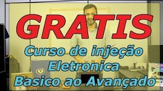 Convite para o Curso GRATIS de injeção eletronica basico ao avançado
