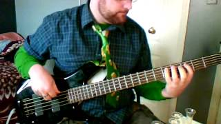 Happy St. Pat's Day!  Flogging Molly - Salty Dog bass and whiskey cover