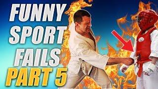 Śmieszne Wpadki Sportowe - Funny Sports Fails [PL] - Part 5