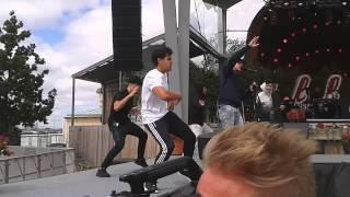 Danny Saucedo feat Malcom B @ Allsång på skansen
