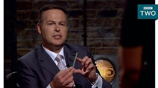 Peter Jones is perplexed by pencils - Dragons' Den: Series 14 Episode 1 - BBC Two
