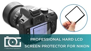 NIKON D3200 SCREEN PROTECTOR | How To use a Professional Hard LCD Screen Protector