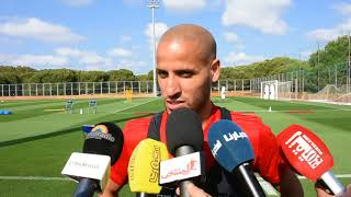 Karim El Ahmadi : Nous devons nous concentrer sur le match contre l'Iran