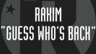 Rakim - Guess who's back ( Dj TeeTee Remix ) 2012