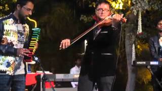 Lagja gale instrumental on Melodica Violin by Junoon Band