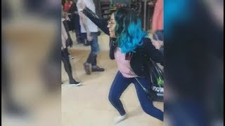 Shenseea Being Funny & Messing With People In UK Mall