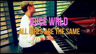 Juice Wrld - All Girls Are The Same | Tishler Piano Cover