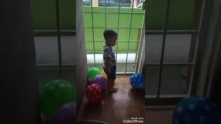 ziyyad dgn belon ( 2 tahun )