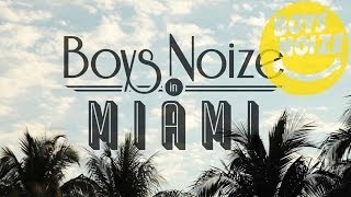BOYS NOIZE & DOG BLOOD in Miami (Live)