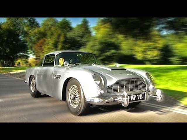 007's Original Aston Martin DB5 #TBT - Fifth Gear