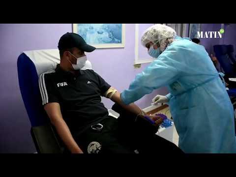 Video : Don de sang : Les arbitres de la Ligue de Casablanca investissent le centre régional de transfusion