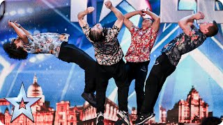Dance act OK WorldWide are flipping AMAZING! | Britain's Got Talent 2015