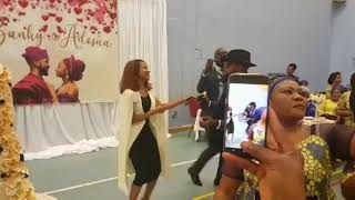 Banky W and Adesua hold big thanksgiving service