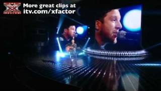 Matt Cardle sings Baby One More Time - The X Factor Live show 3 - itv.com/xfactor