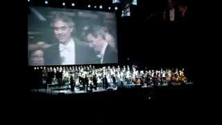 """andrea bocelli dedicates """" nessun dorma"""" to luciano pavarotti"""