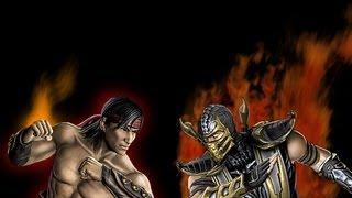 SpG - Mortal Kombat Tournament Round 1 Fight 7 - Liu Kang vs Scorpion