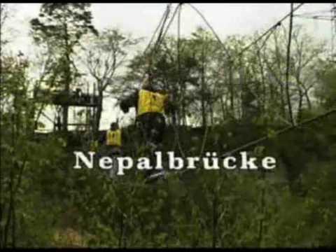 Seilbruecke – Burma Bridge – Abentuer Steinbruch – Lochmuehle Eigeltingen