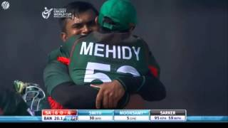 Bangladesh vs South Africa U19 world cup 2016 (South Africa Innings) width=
