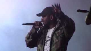 Kendrick Lamar- Maad City live Osheaga 2015