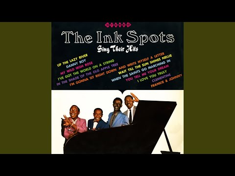 Im Gonna Sit Right Down And Write Down And Write Myself A Letter de The Ink Spots Letra y Video