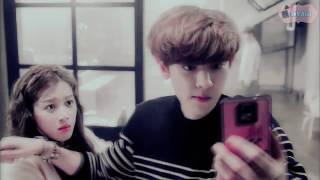 "YeonHee & ChanYeol    ""So lucky to be your love...""    ℰxo Next Door"