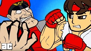 Street Fighter ENTIRE Storyline in 3 Minutes! (Street Fighter Animation)