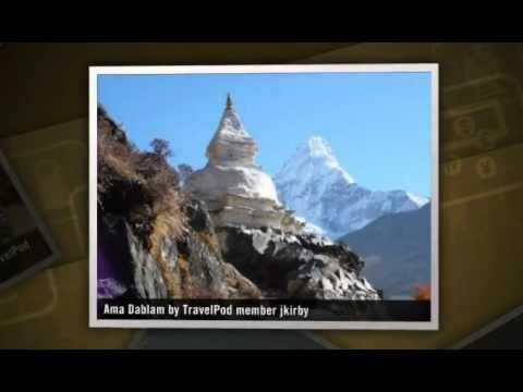 """Mt. Everest (Chomolongma) Base Camp"" Jkirby's photos around Sagamartha National Park, Nepal"