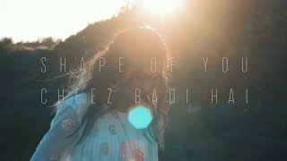 Ed Sheeran - Shape Of You | Cheez Badi Hai (Vidya Vox Mashup Cover) LYRICS