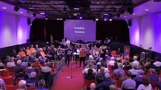 The Red shield - played at the brassweekend by guest soloist Dudley Bright and the