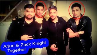 Arjun & Zack Knight Rare Pics Together Hd