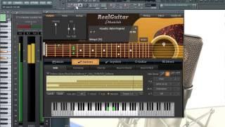 GUITARRA INSTRUMENTAL HECHA CON PROGRAMAS DE AUDIO | Clases de Ingenieria de Sonido