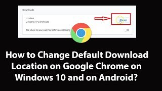 How to change download location in chrome videos / InfiniTube