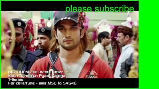 KAUN TUJHE Video   M S  DHONI  THE UNTOLD STORY  Amaal Mallik Palak   Sushant Singh Disha Patani
