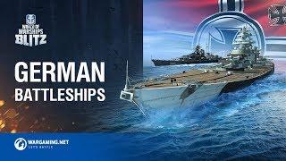 World of Warships Blitz: German Battleships