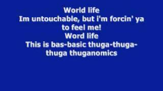 John Cena's old theme song Basic Thuganomics with lyrics