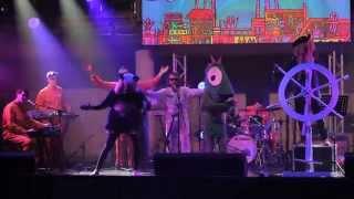 Show de Las alucinantes aventuras del Barco Volador en Festival Pulsar 2014
