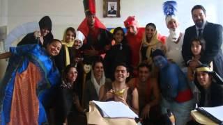 Gênio e Tapete Mágico X Aladin e Jafar
