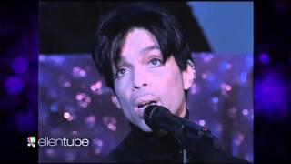 "PRINCE LIVE ""Nothing Compares To U"" LIVE PERFORMANCE On ELLEN SHOW CLASSIC_April 26_16 WOW_VIDEO_"