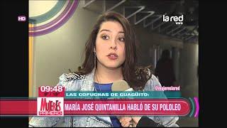 María José Quintanilla se refirió a su relación 40 y 20