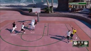 NBA 2k16 BEST Jumpshot In Park | Caillou Gets Buckets!! @DeyCallMeTravis