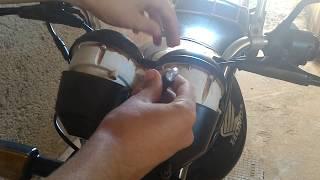 Colocando painel pra acender apenas ligando a chave fan 2009 - DICA